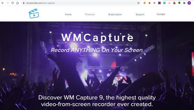 WM capture screen