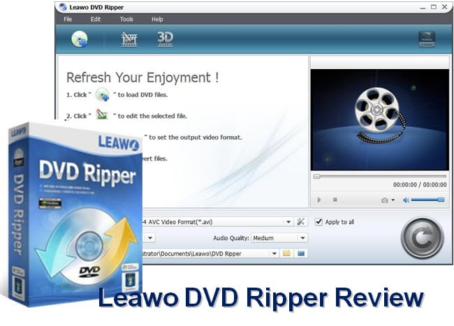 Leawo dvd ripper review