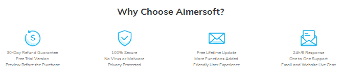 why Aimersoft