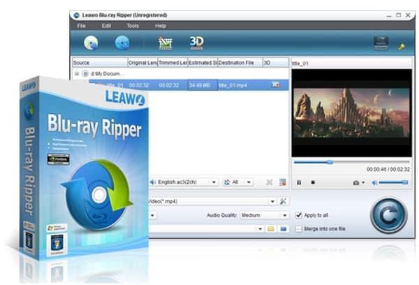 Leawo-Blu-ray-ripper-screenshot