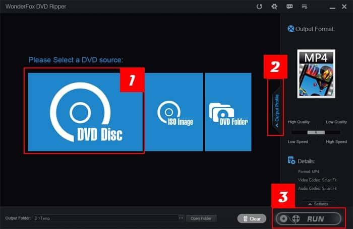 Unlock DVD Region Code with WonderFox DVD Ripper
