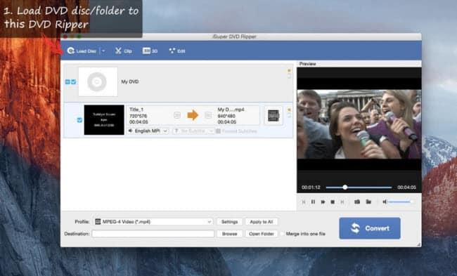 iSuper dvd ripper for mac