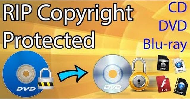 Rip protected dvd