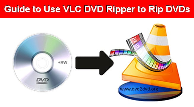 VLC dvd ripper to rip dvds