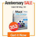MacX video converter pro anniversary sale