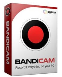 Bandicam screen recorder box