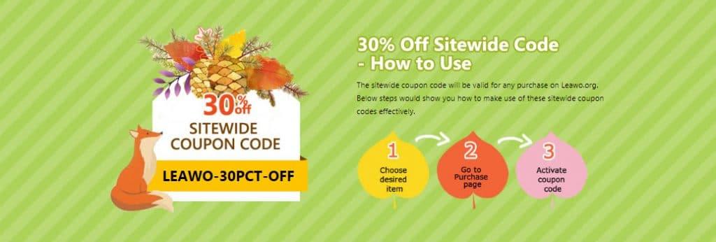 Leawo software coupon code