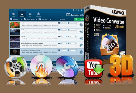 Leawo Video Converter Ultimate screen