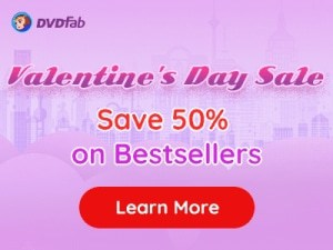 DVDFab Valentine Day Offer 2021