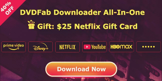 DVDFab Downloader All-in-one promo
