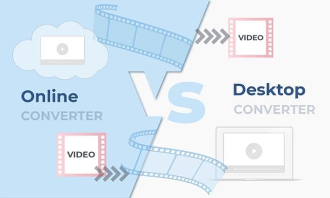 Desktop Video Converters Vs. Online Converters
