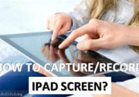 ipad screen capture